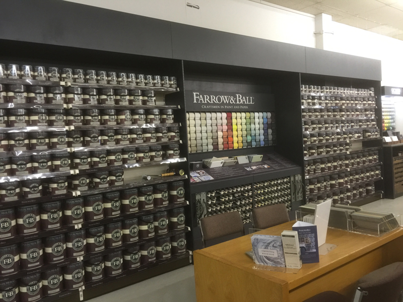 Farrow And Ball Paint Display Hertford Shelving Ltd