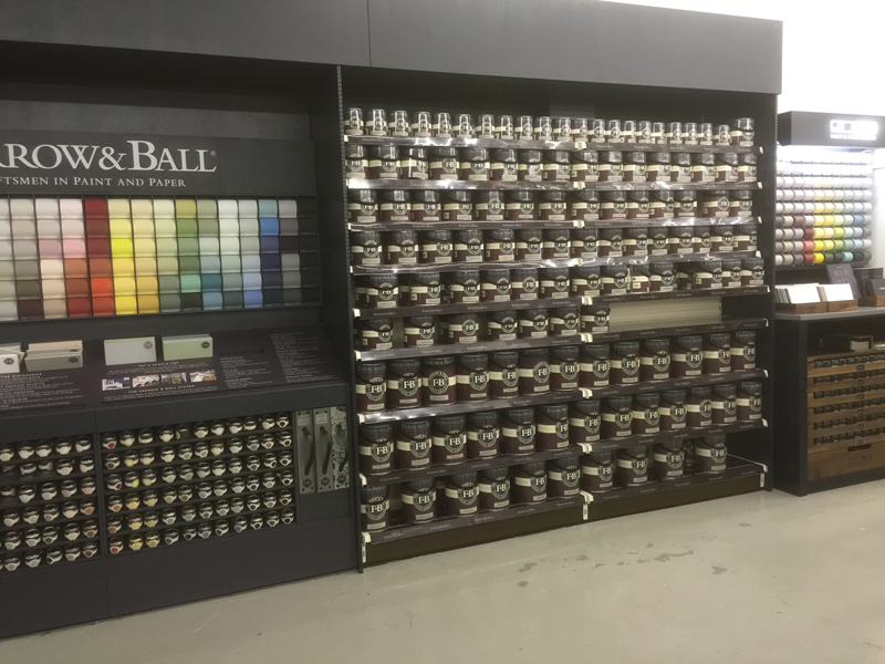 Farrow And Ball Paint Display Hertford Shelving Ltd