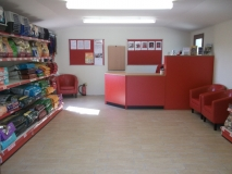 Ladybird Kennels Retail Area. Brentwood Essex