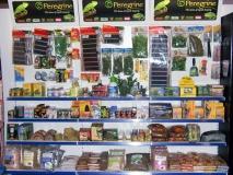 Peregrine Live Food Branded Shelving, Essex
