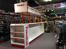 Taska Branded Fishing Tackle Shelving, Hertfordshire