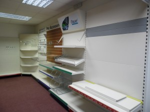 Hertford Shelving's New Show Room