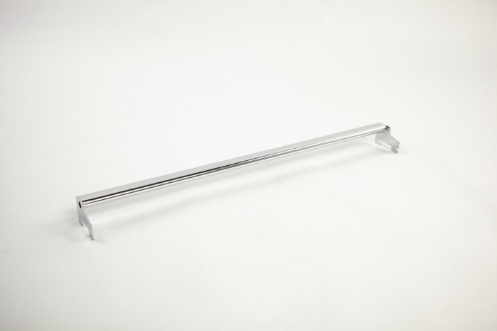 Oval Rear Support Bar Chrome