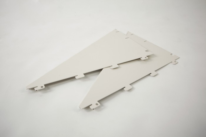 Sloping Holder End Plates Per Pair