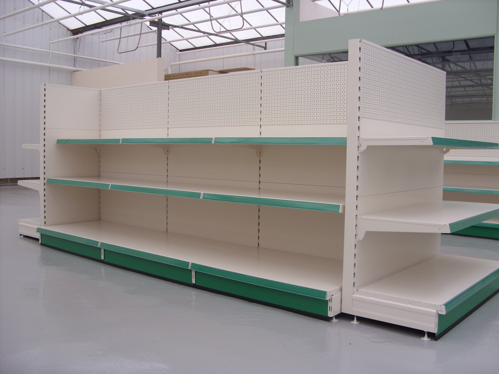 S50i retail shop shelving