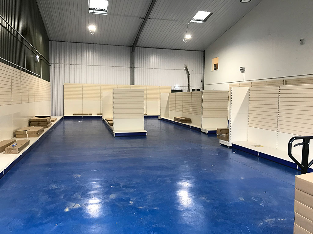 "HSL would like to thank H G Gladwell and Sons for awarding HSL the supply and installation of new shelving at their new ""Sandwich branch in Kent. We wish them all the best with the new shop."