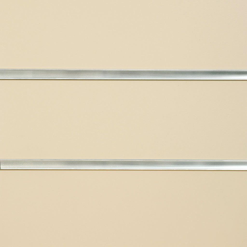 Cream Slatwall Panel