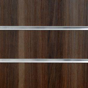 Dark Ash Slatwall Panel