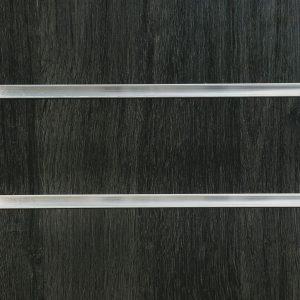 Jet Oak Slatwall Panel