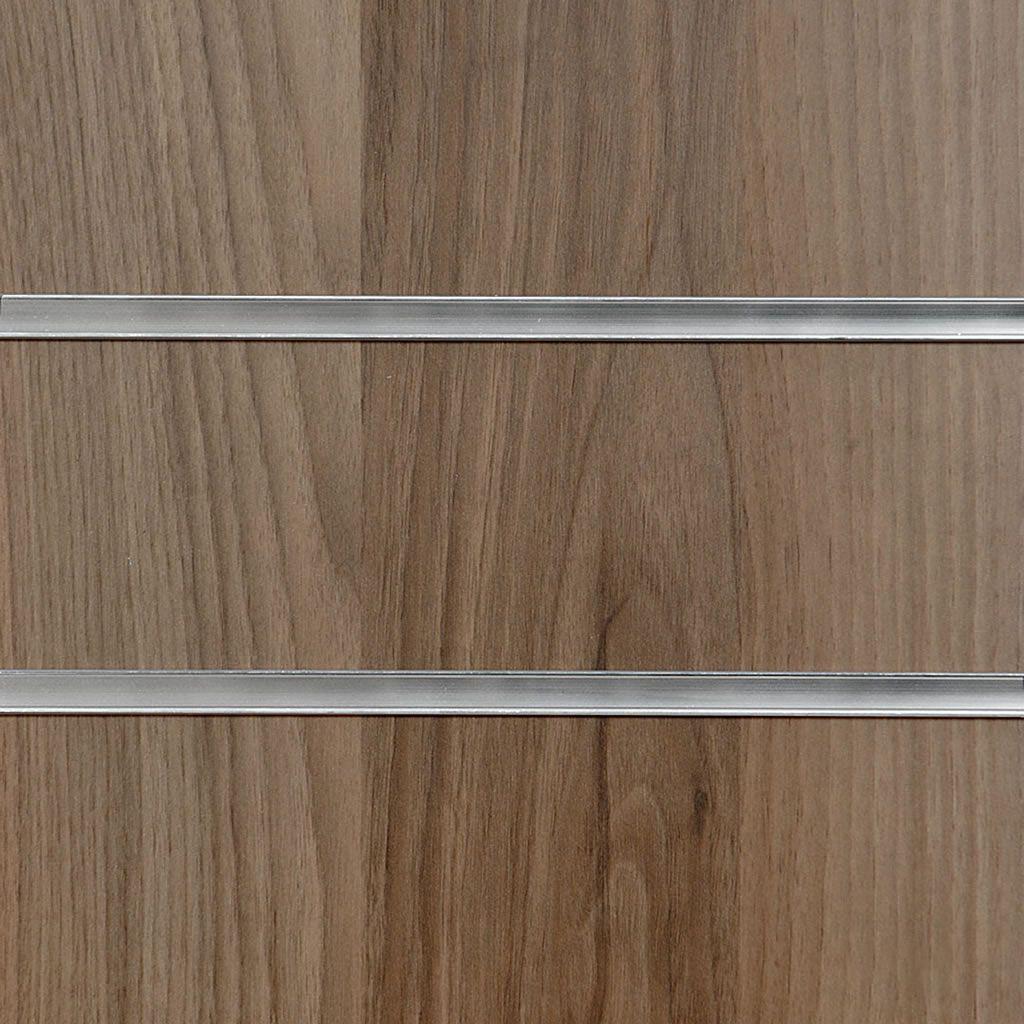Light Walnut Slatwall Panel