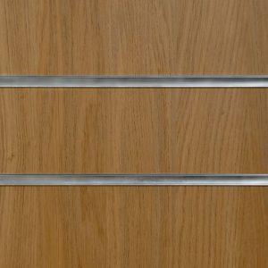 Oak Slatwall Panel