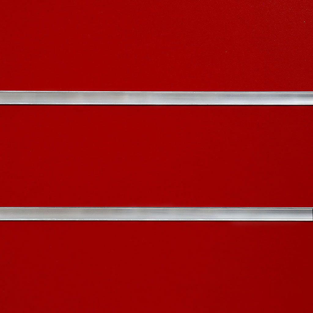 Red Slatwall Panel