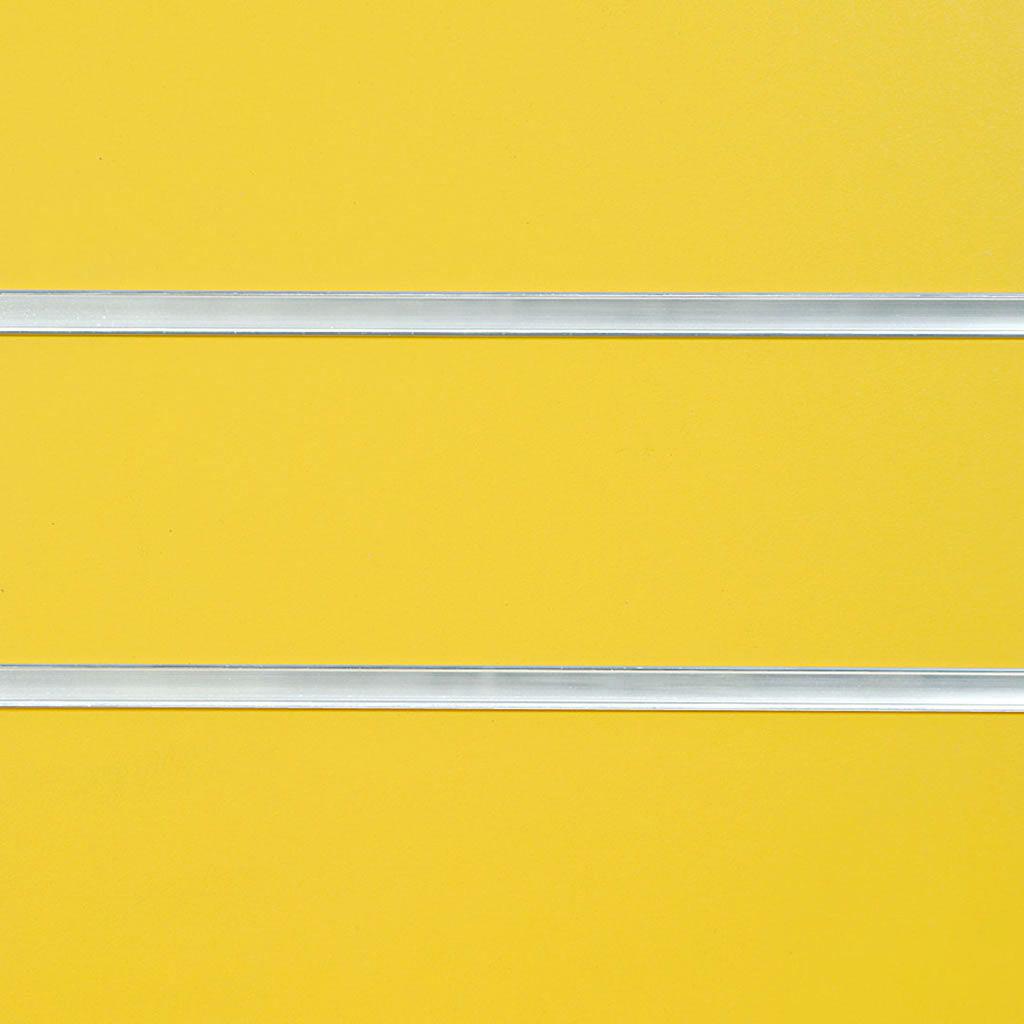 Yellow Slatwall Panel