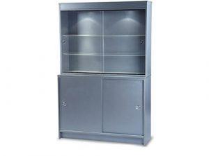 3 Tier Showcase With Storage